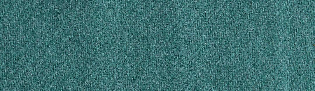 Jade green twill weave wool