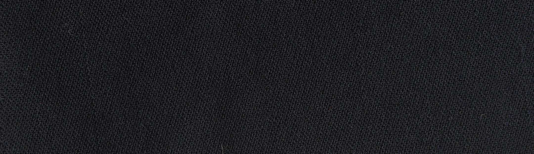 Black or midnight broadcloth wool