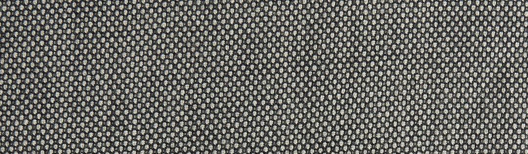 Black-and-white bird's-eye tweed wool