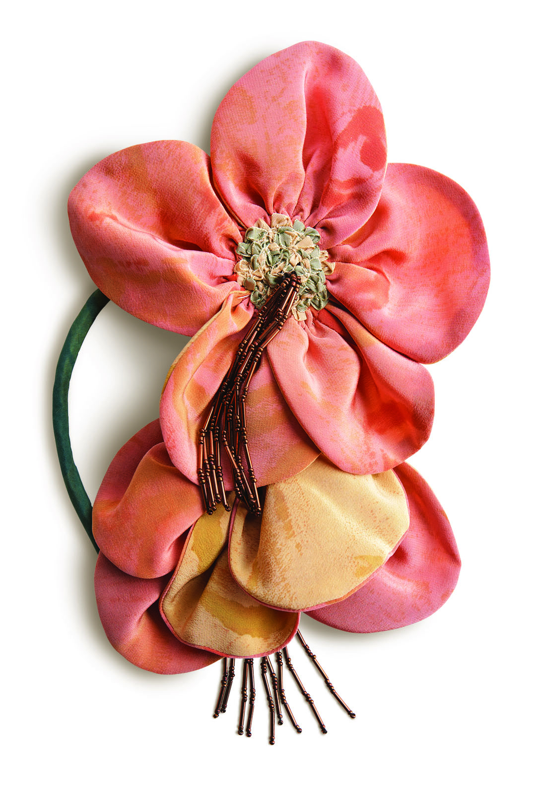 Create your own silk flower