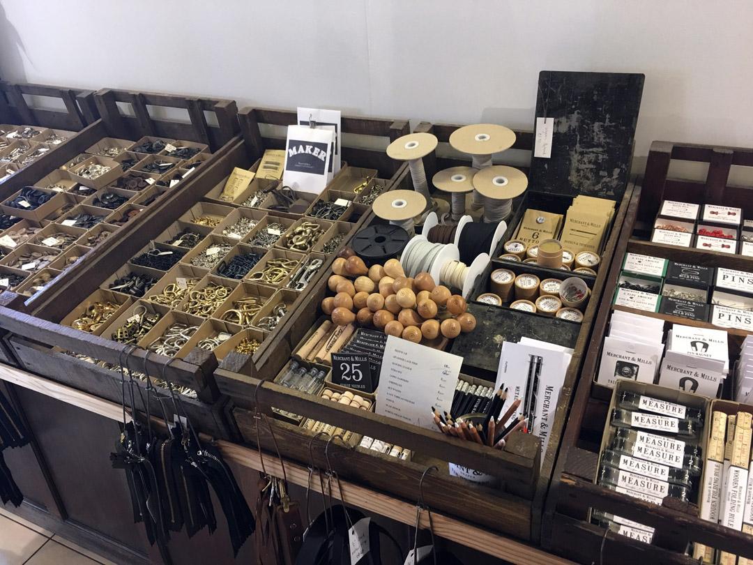 Merchant & Mills store offerings