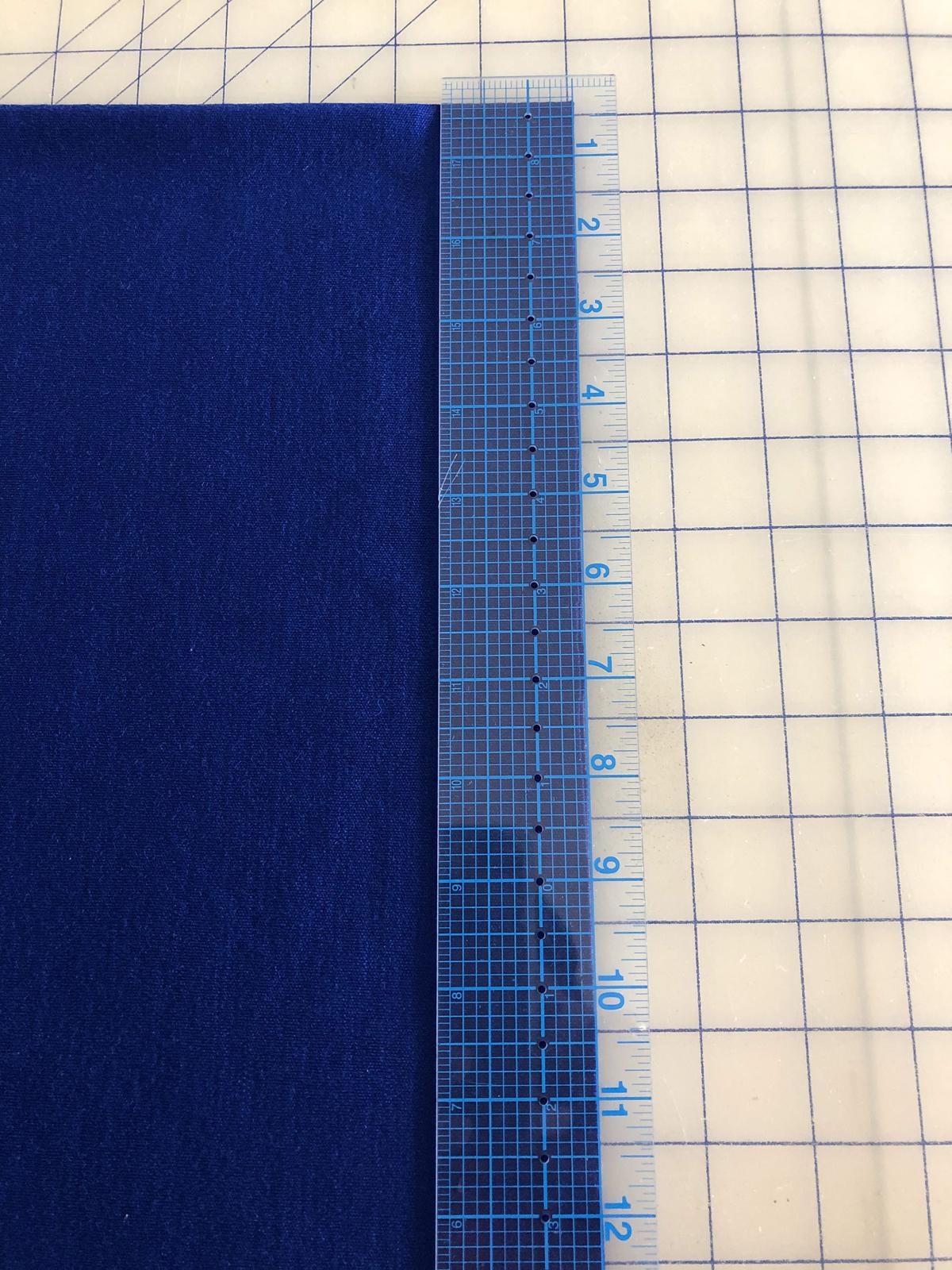 Measure the neck binding strip