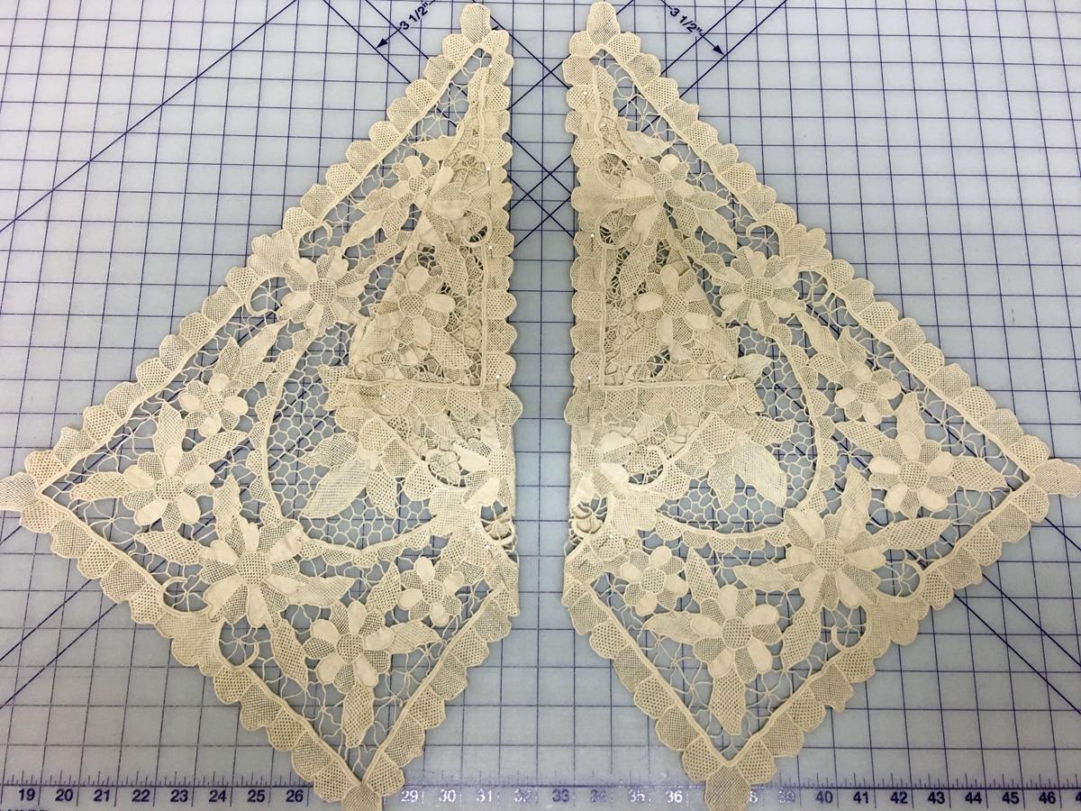 Lace dresser scarves