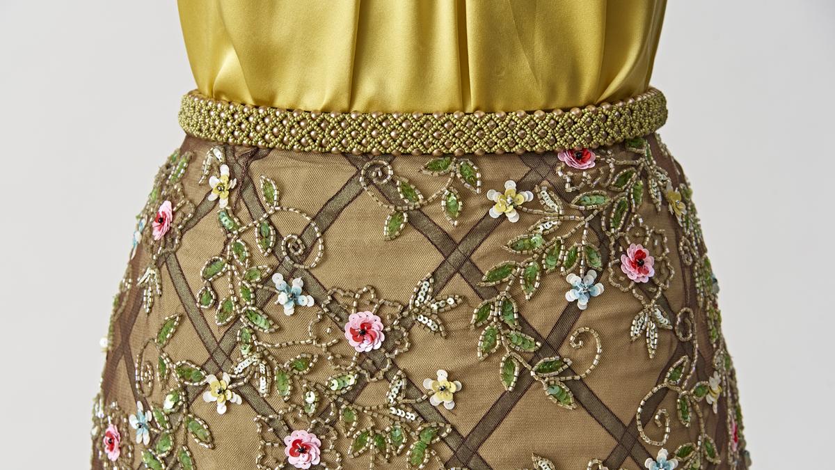 Beaded Skirt Waist
