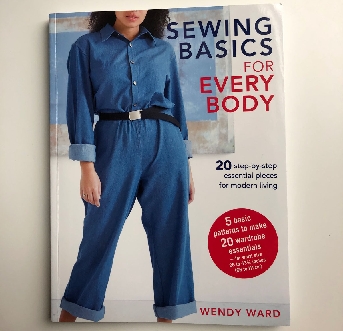 Gift guide: cover of the book Sewing Basics for Every Body
