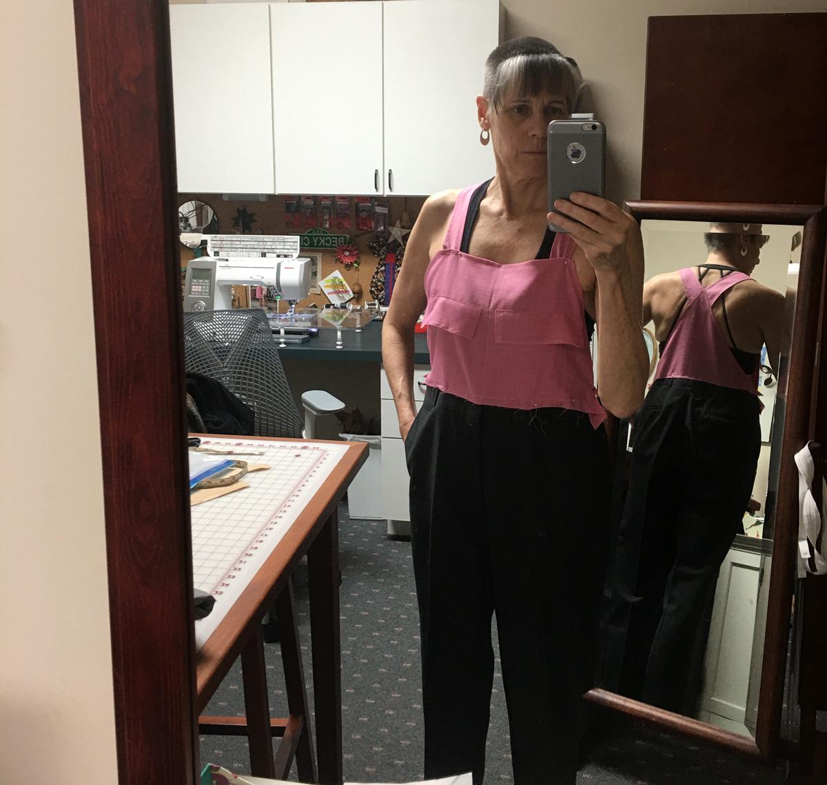 Business overalls muslin