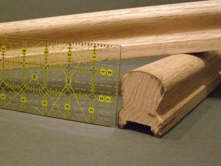 Railing for seam roll
