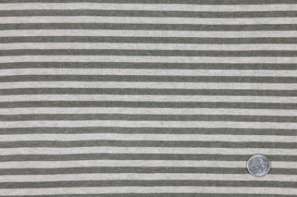 Olive stripes from Mood