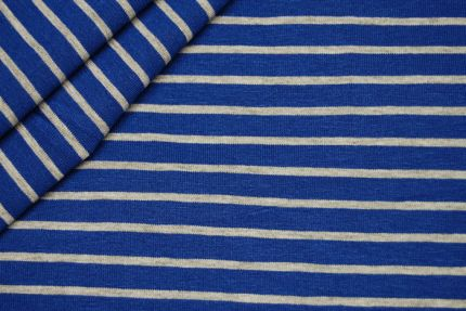 Blue rayon knit