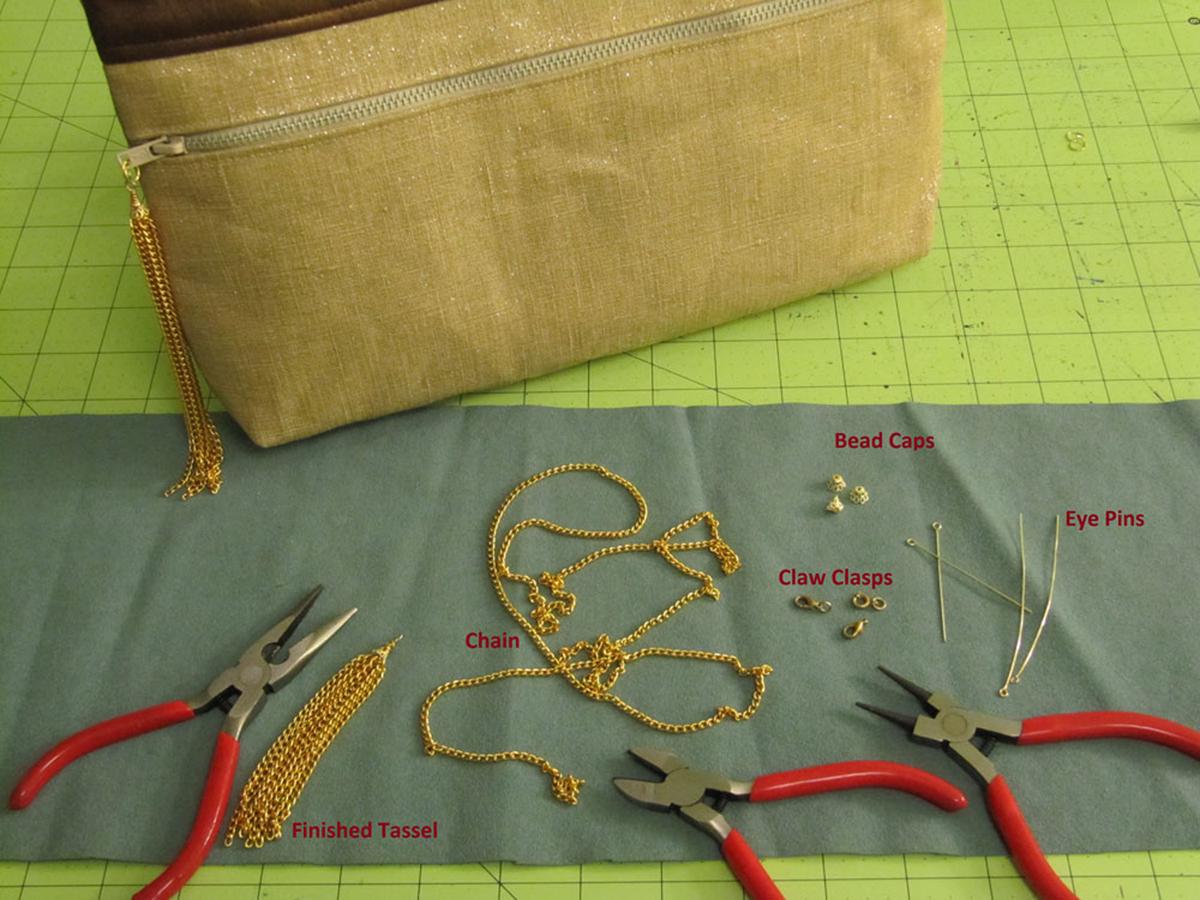 Materials for Chain Tassel