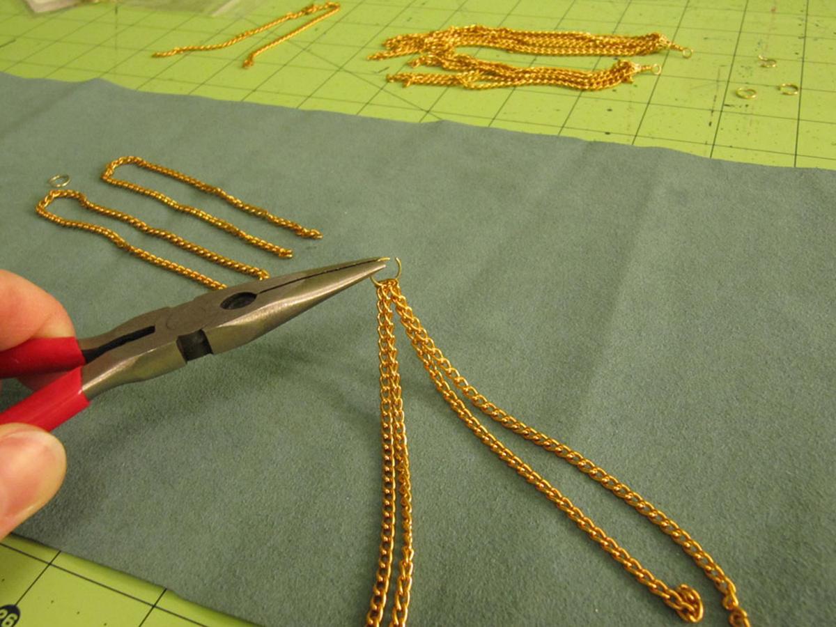 Chain Tassel Step 2