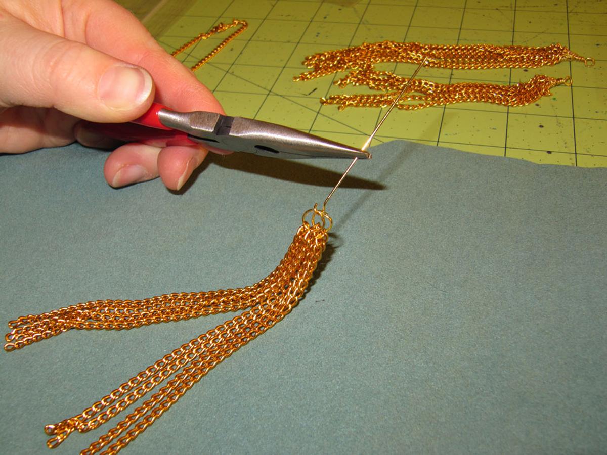 Chain Tassel Step 3