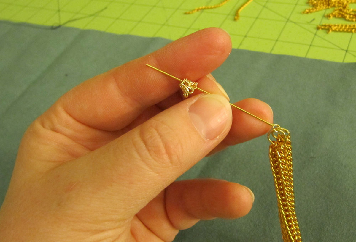 Chain Tassel Step 4