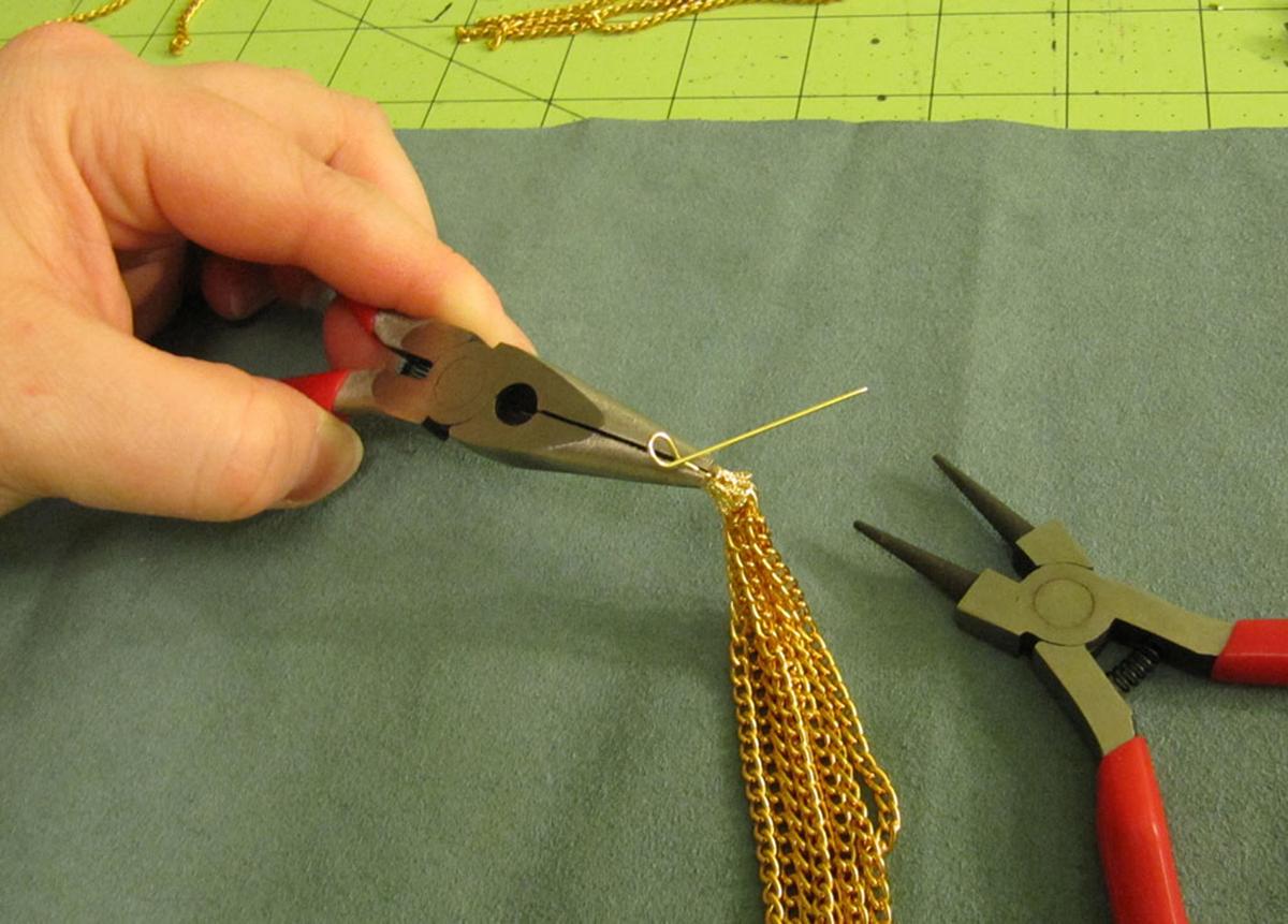 Chain Tassel Step 6