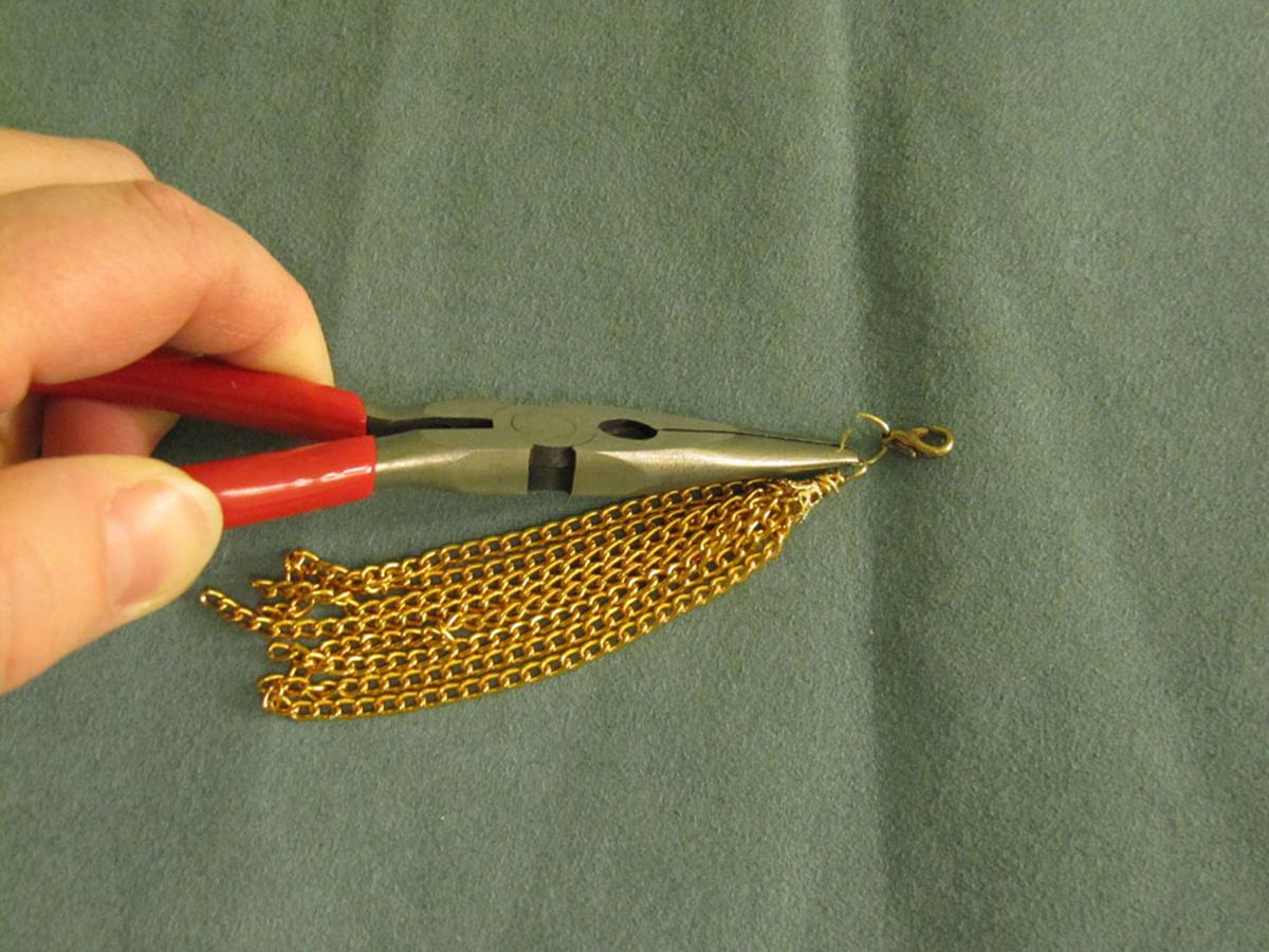 Chain Tassel Step 8