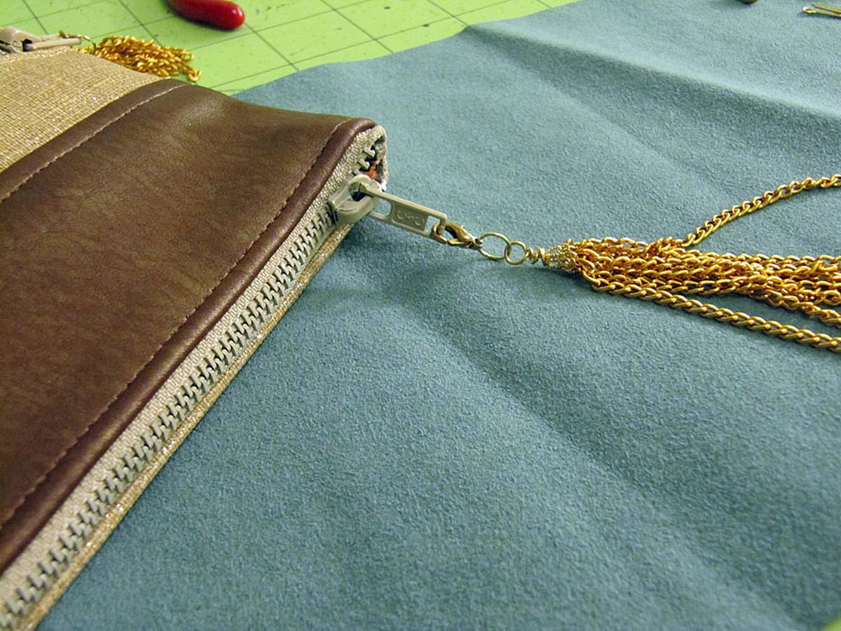 Chain Tassel Step 9