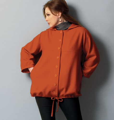 Loose-fitting, unlined misses'/women's jacket