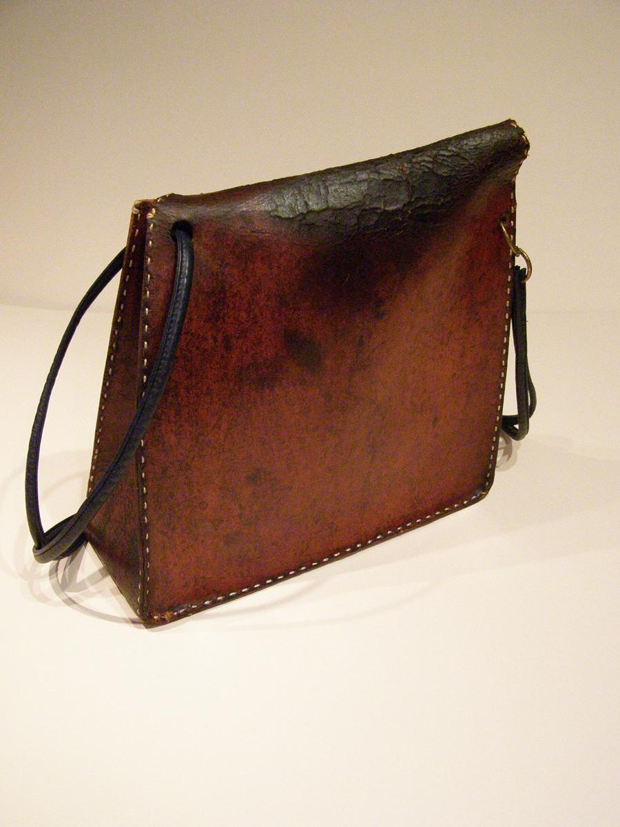 Back of Vintage Modernist Bag