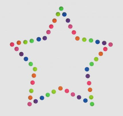 Star design free template