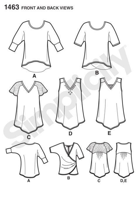 simplicity pattern 1463