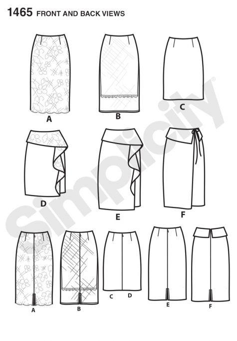 simplicity pattern 1465