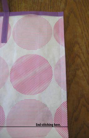 Sew the side seams