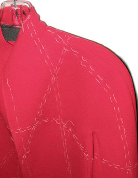Cashmere test garment