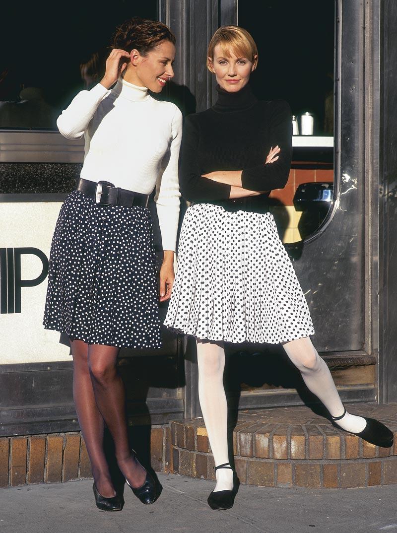 Easy pleated skirt