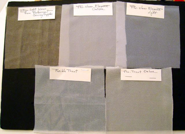 fusible swatches
