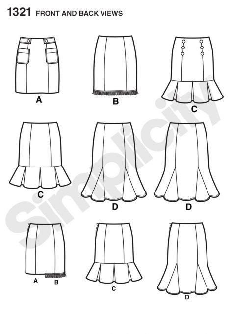simplicity pattern 1321