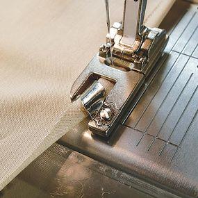 Fabric slipping under toe