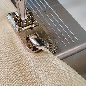 Gap between fabric and toe