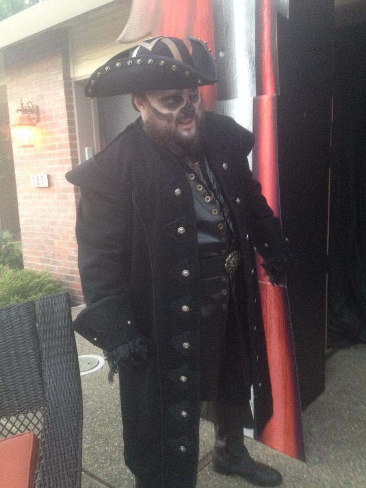 Threads 2014 Halloween Semifinalist Ghostly Black Beard