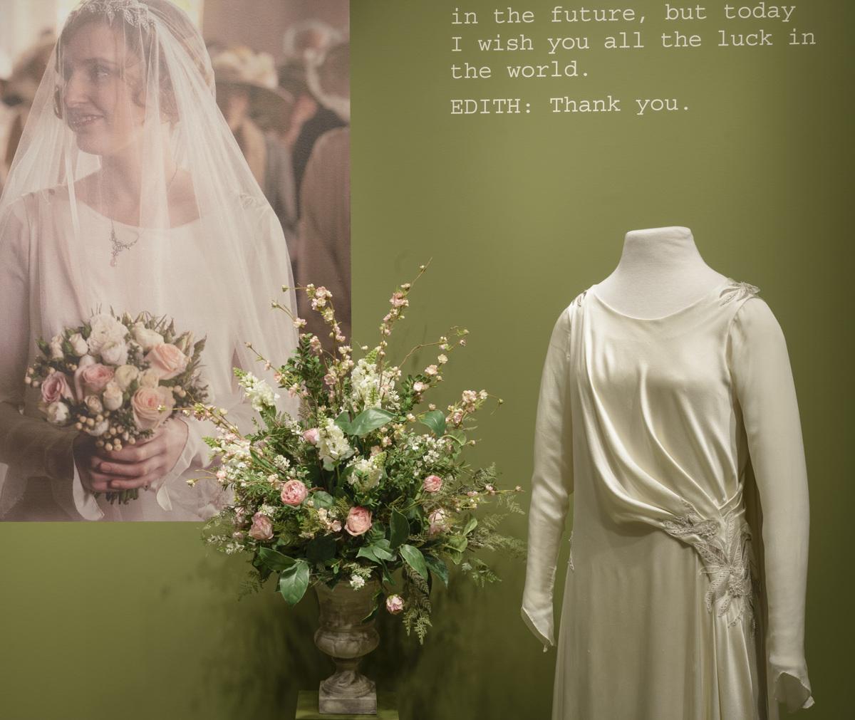 Lady Edith's wedding dress