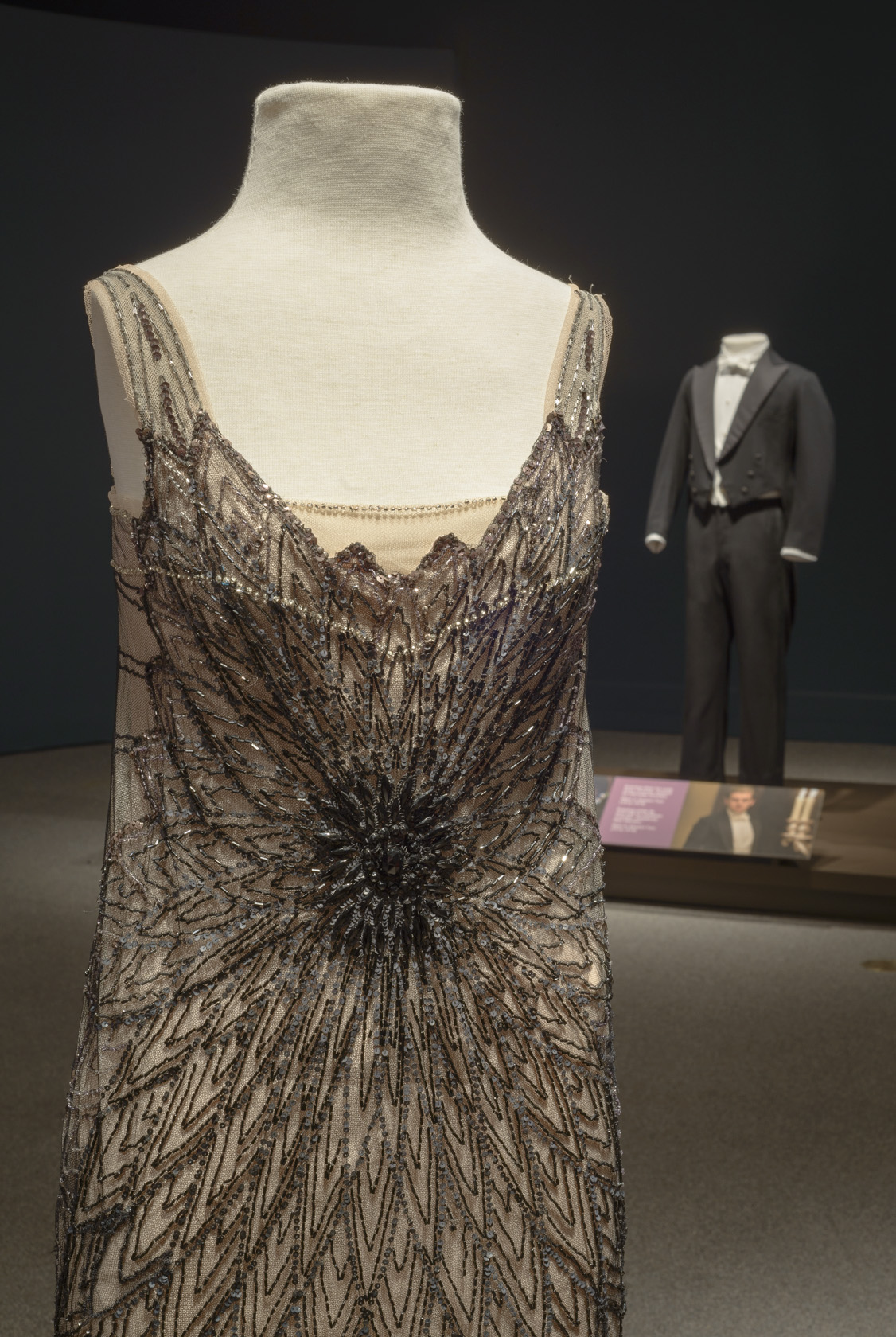 Mary's evening dress