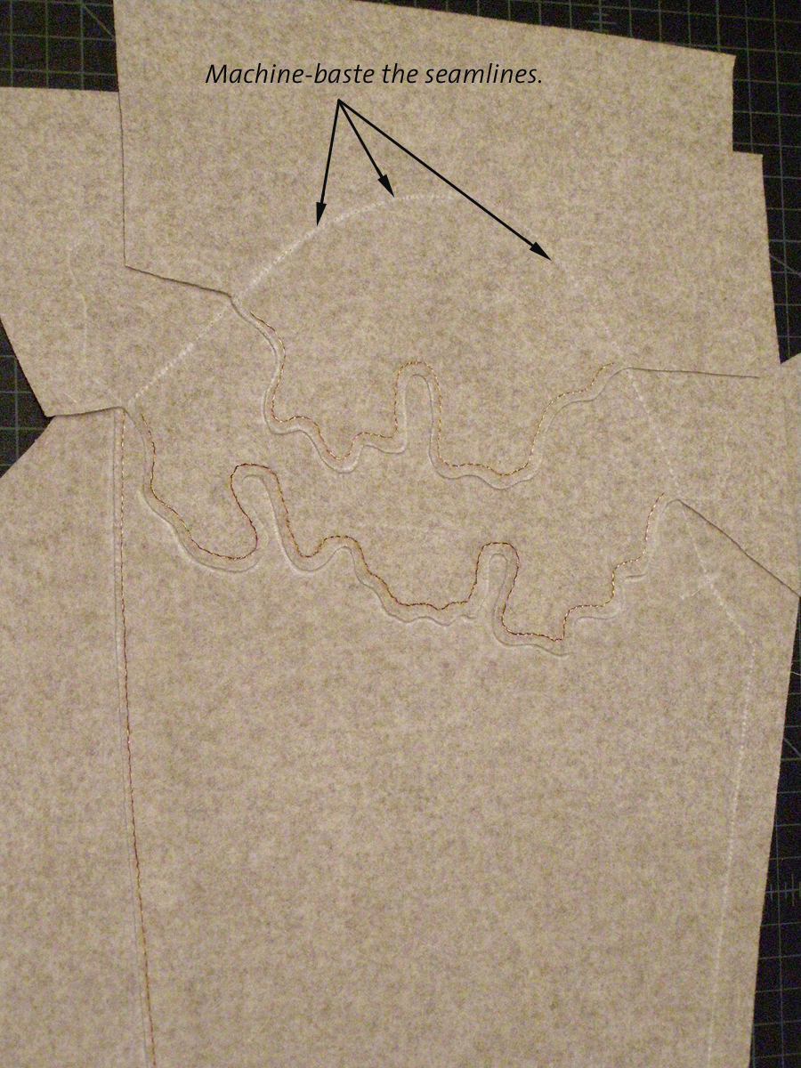 how to install sleeves tailored wool coat 1