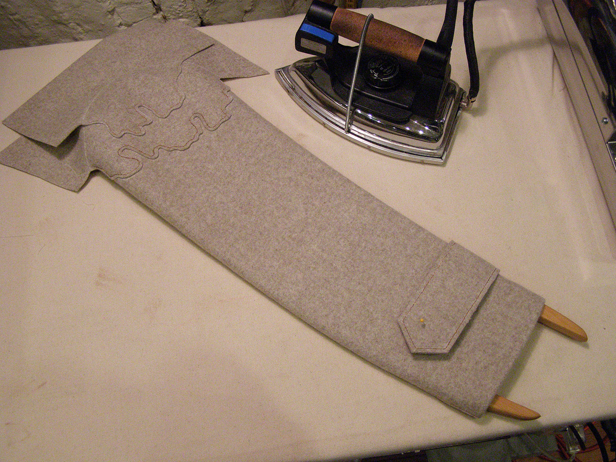 how to install sleeves tailored wool coat 3