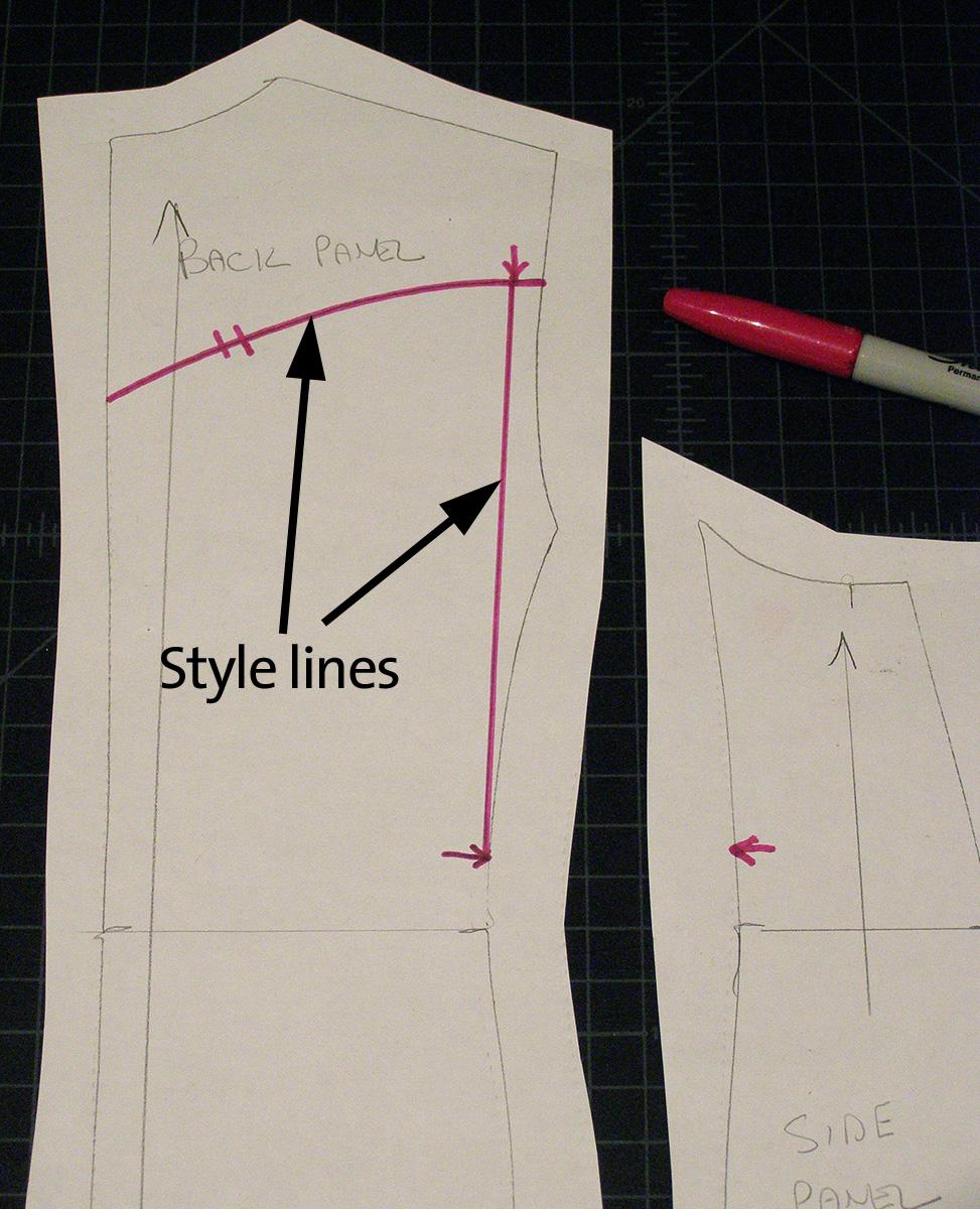action back vintage jacket pattern