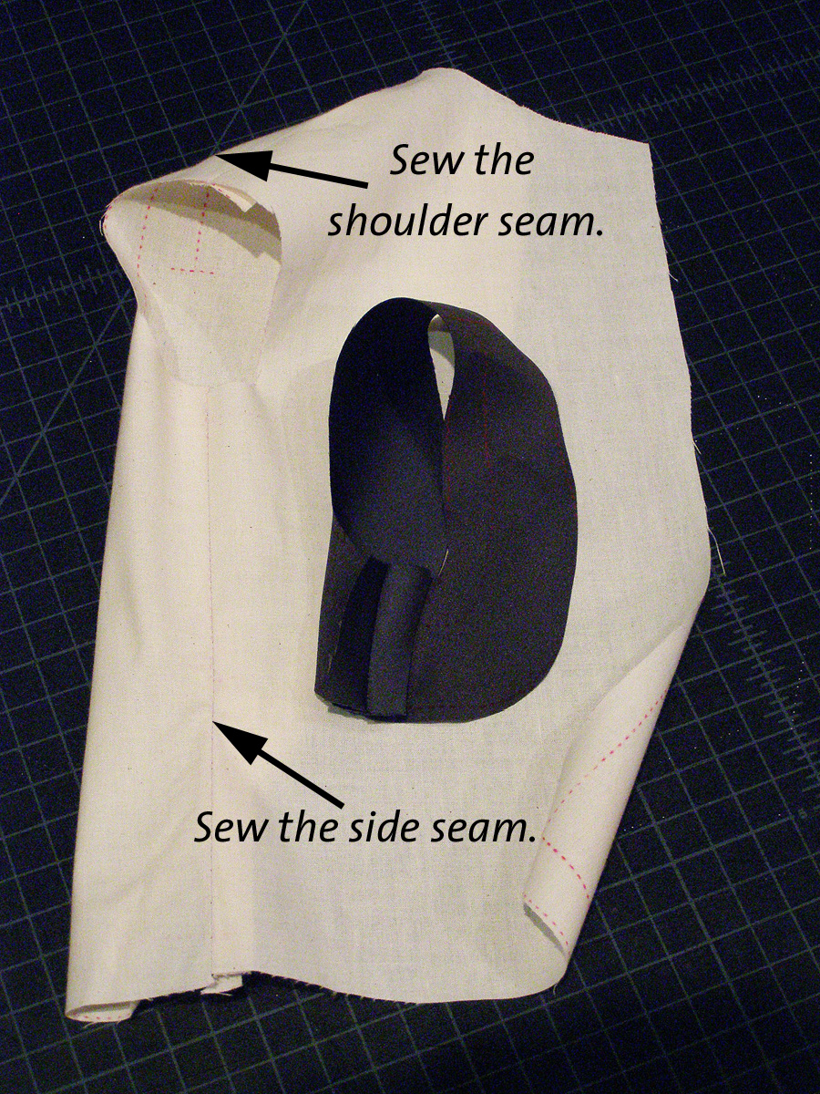 the loden sleeve, part 2 armhole
