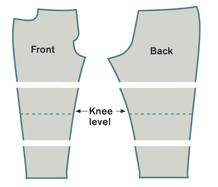 Lengthen or shorten