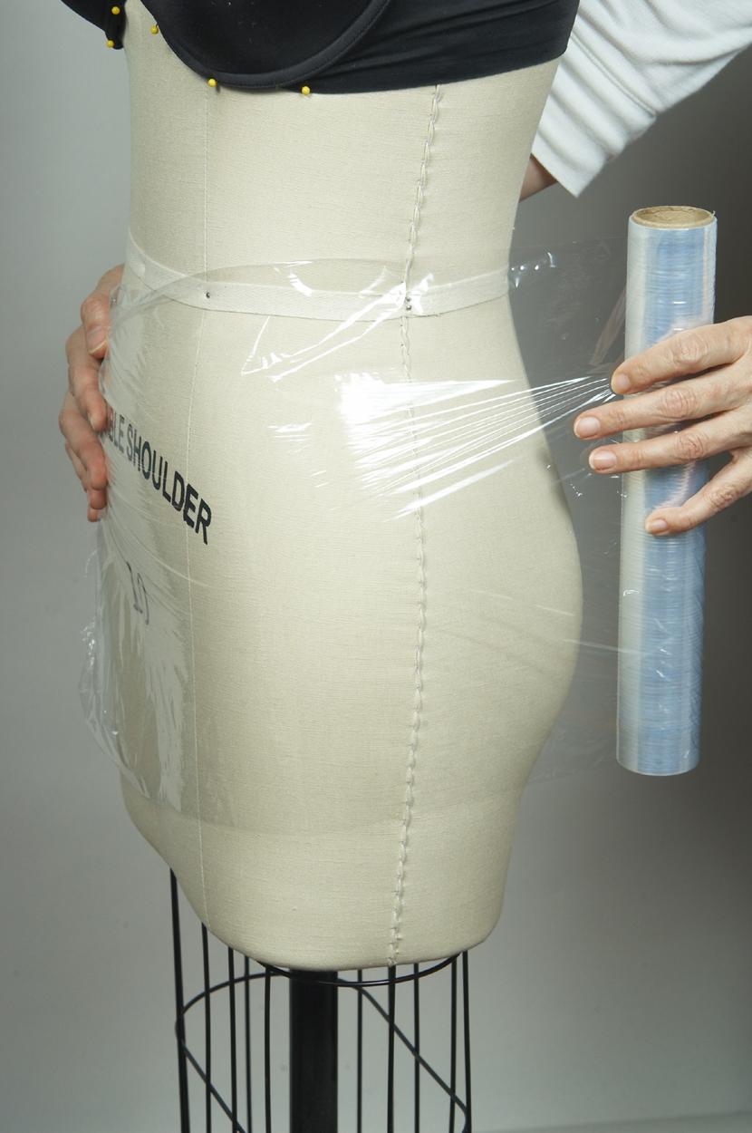 humanize the dress form shape the torso 2