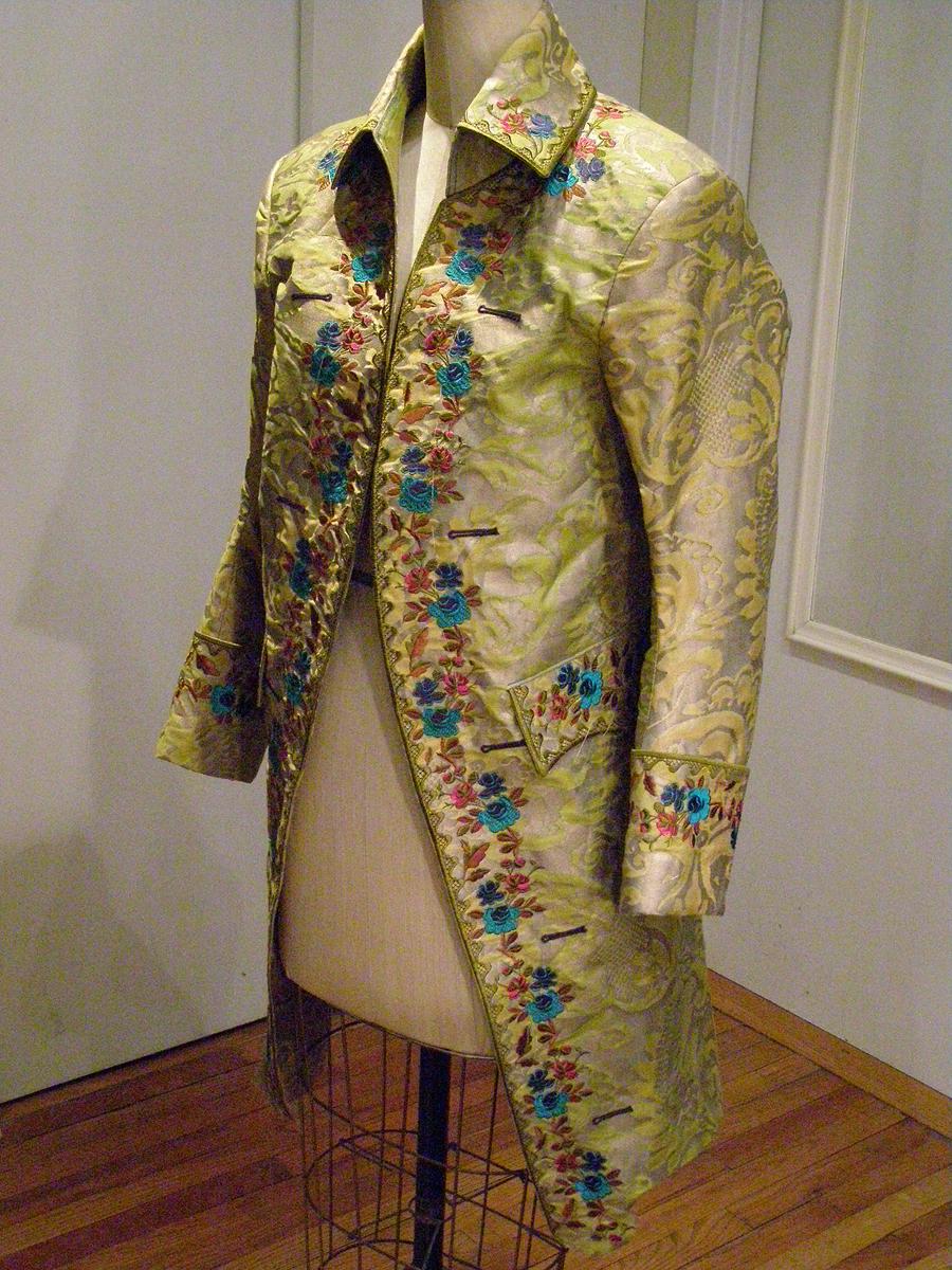 fortuny frock coat