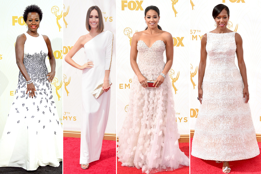 2015 emmy awards fashion red carpet