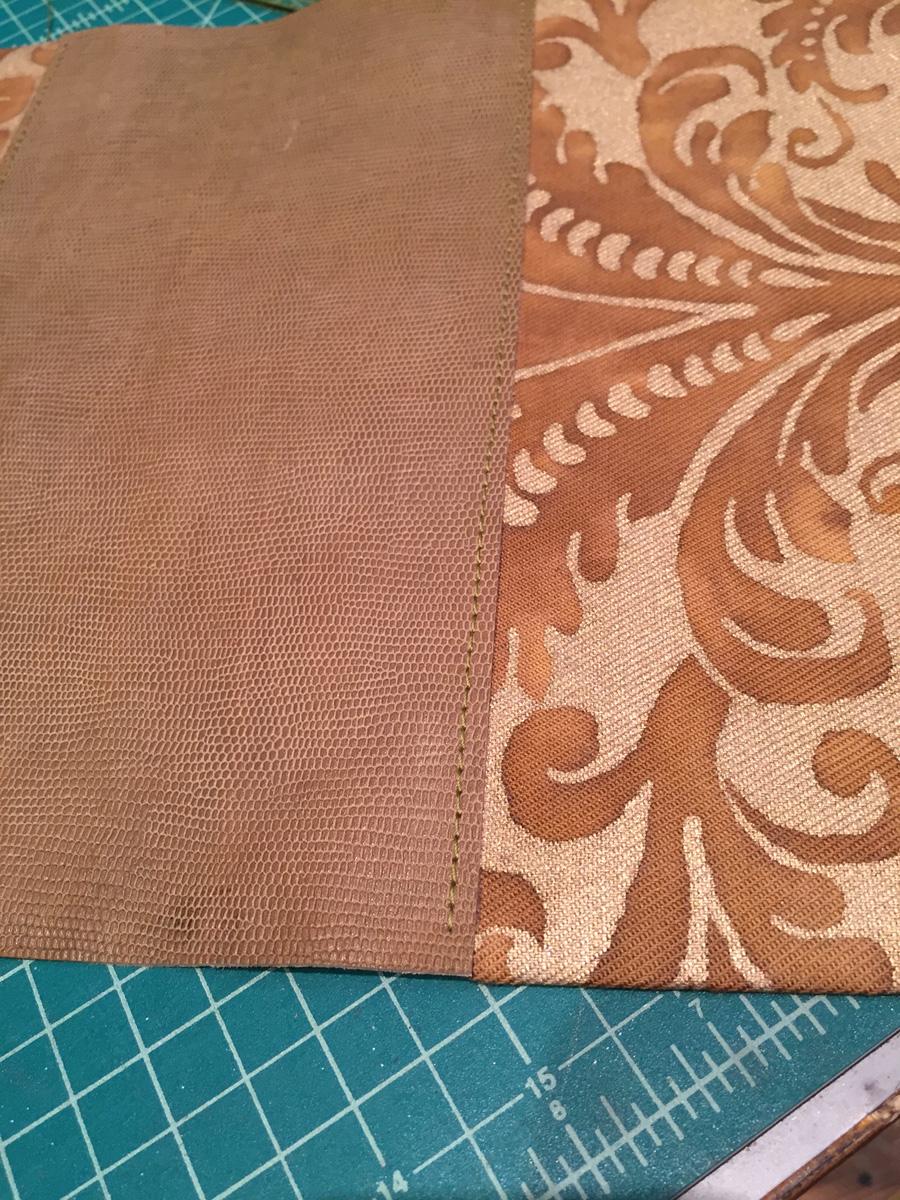 make a fortuny gladstone bag part 1