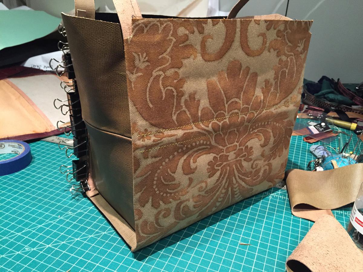 make a fortuny gladstone bag part 2