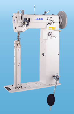 industrial high post-bed sewing machine