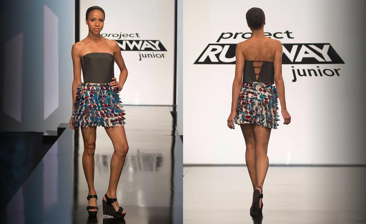 project runway junior episdoe 2 Maya