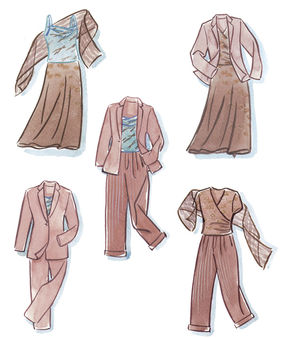 Designs for a wardrobe