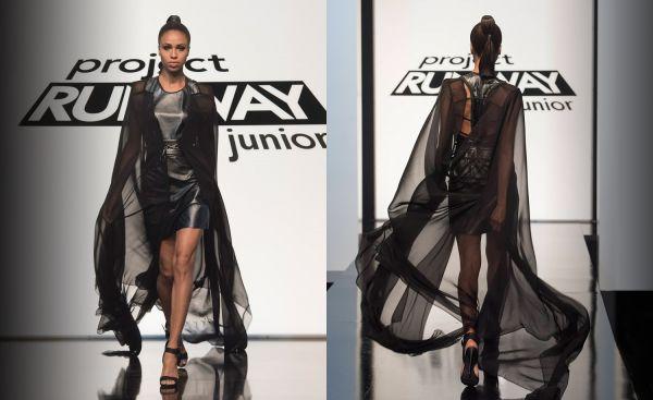Project runway junior episode 8 Maya final look