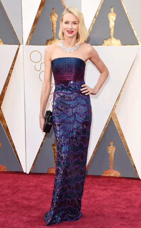 Naomi Watts 2016 Oscars red carpet